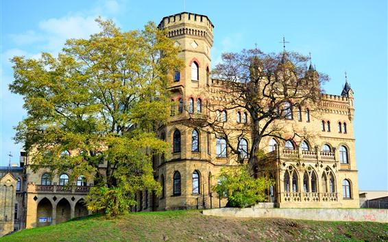 Wallpaper Lithuania, Vilnius, Palace, castle