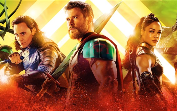 Fondos de pantalla Marvel movie, Thor: Ragnarok