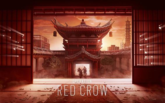 Wallpaper Rainbow Six Siege: Operation Red Crow