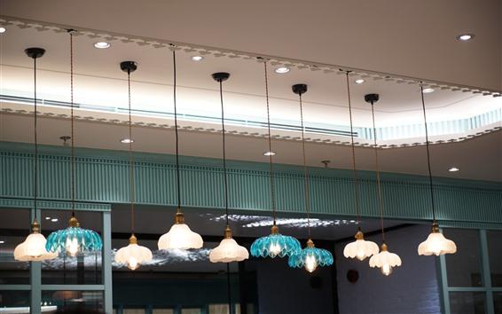 Wallpaper Room, lights