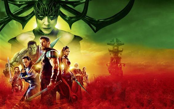 Papéis de Parede Thor 3, DC filme de quadrinhos