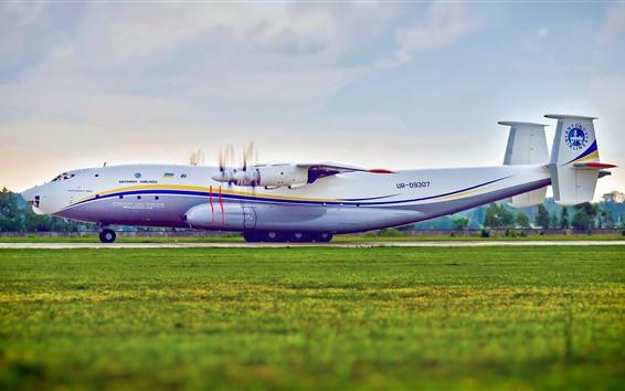Wallpaper Ukraine, Antonov An-22 plane, airport