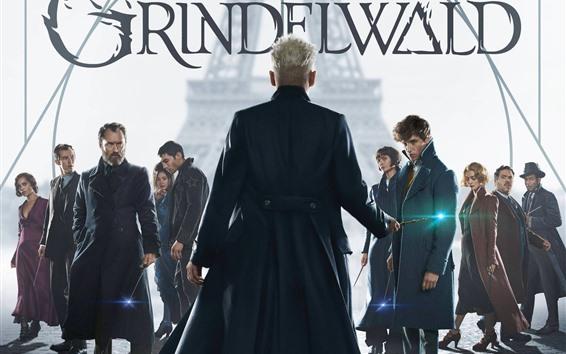 Fondos de pantalla Película de 2018, Animales fantásticos: Los crímenes de Grindelwald
