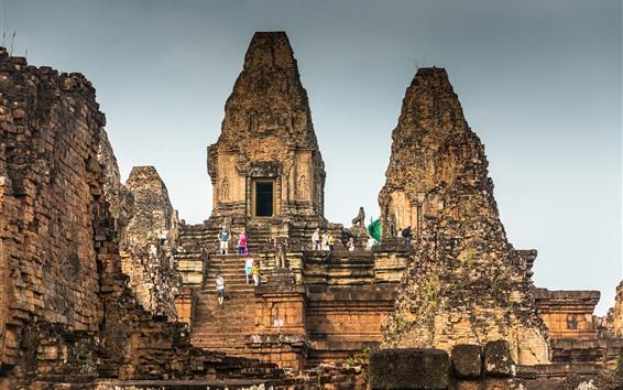 Wallpaper Cambodia, Angkor, ruins