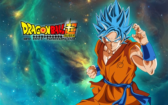 Fondos de pantalla Dragon Ball Super, goku, anime