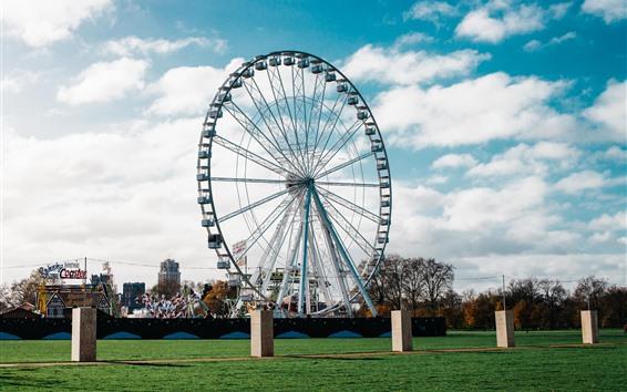 Papéis de Parede Roda gigante, parque