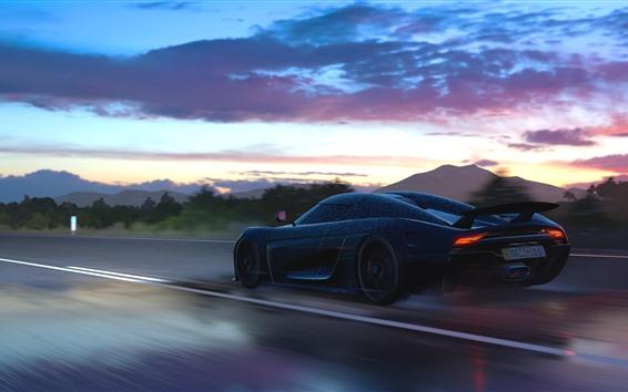 Wallpaper Koenigsegg supercar speed, Forza Horizon 3