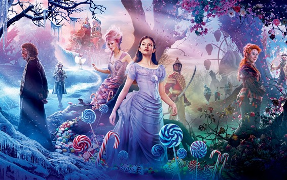 Wallpaper Mackenzie Foy, The Nutcracker and the Four Realms