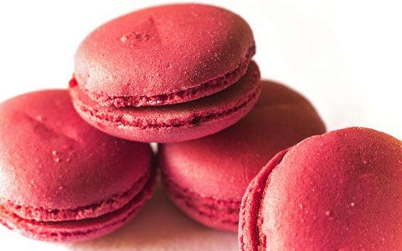 Wallpaper Pink macaron, cakes