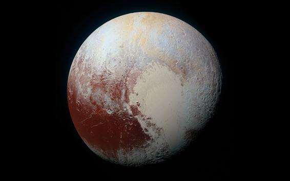 Fond d'écran Pluton, planète, espace