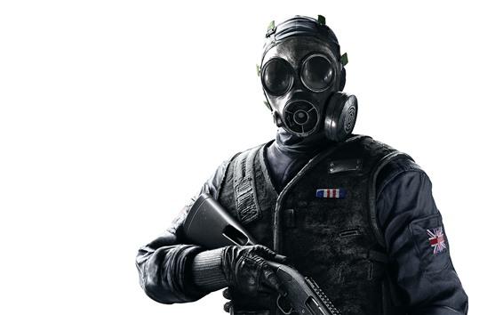Rainbow Six Siege Soldat Gasmaske 3840x2160 Uhd 4k