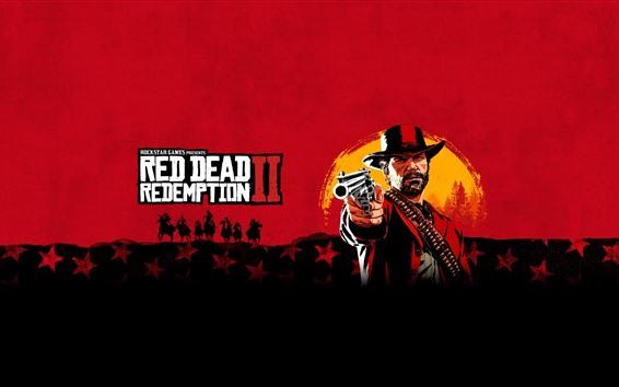 Wallpaper Red Dead Redemption 2