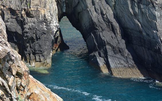 Wallpaper Sea, rocks, coast