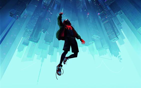 Wallpaper Spider-man, city, New York, art picture