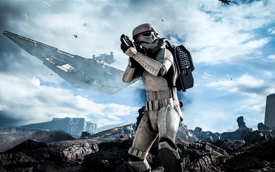 Papéis de Parede Star Wars: Battlefront, soldado