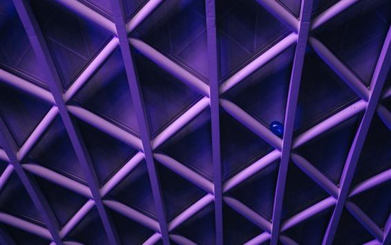 Wallpaper Structure, weaving, blue balloon