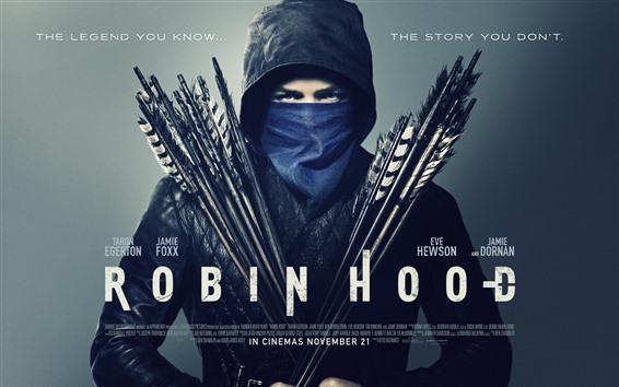 Wallpaper Taron Egerton, Robin Hood: Origins
