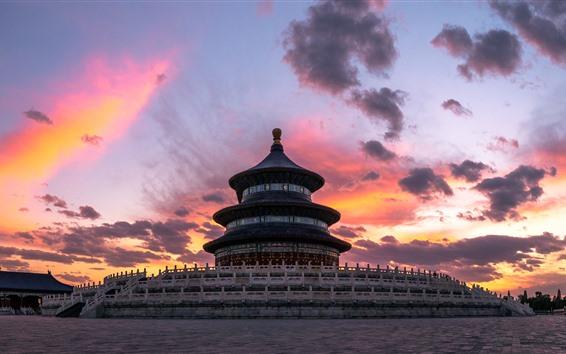 Обои Храм Неба, Пекин, Китай