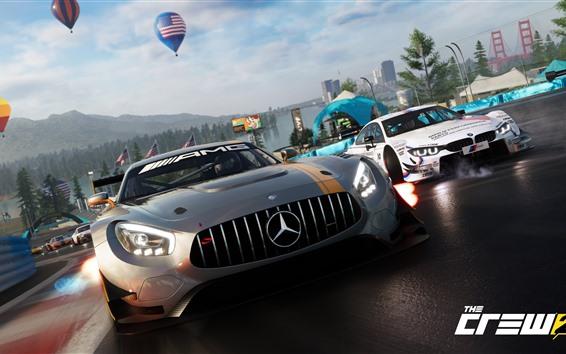 Wallpaper The Crew 2, Mercedes-Benz supercar