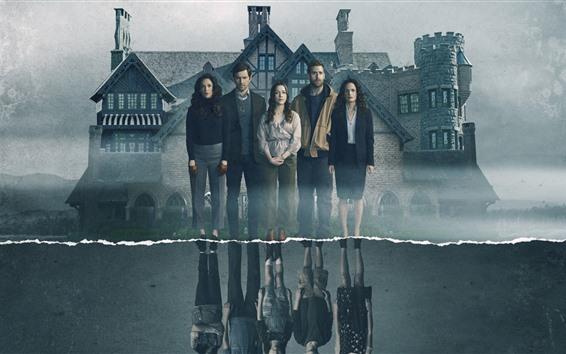 Papéis de Parede A assombração de Hill House, série de TV