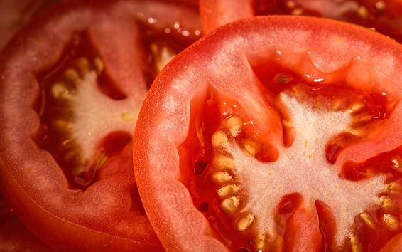 Wallpaper Tomato slice