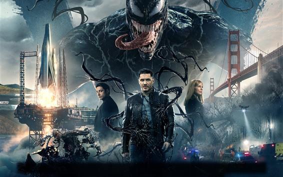 Hintergrundbilder Venom 2018 Film