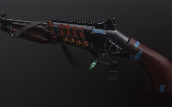 Wallpaper Weapon, shotgun