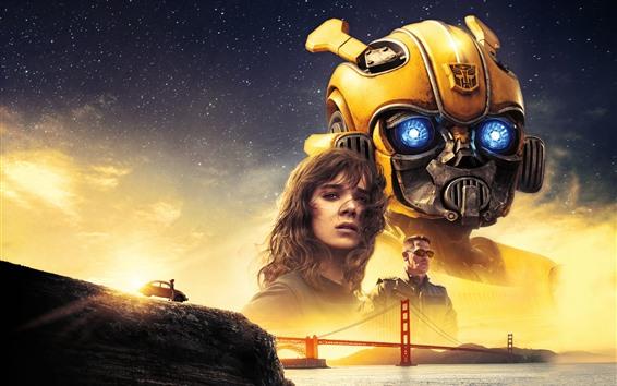 Papéis de Parede Filme de 2018, Bumblebee, Transformers