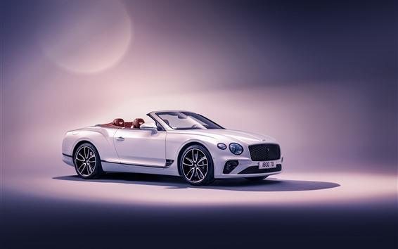Wallpaper 2019 Bentley Continental GT Convertible side view