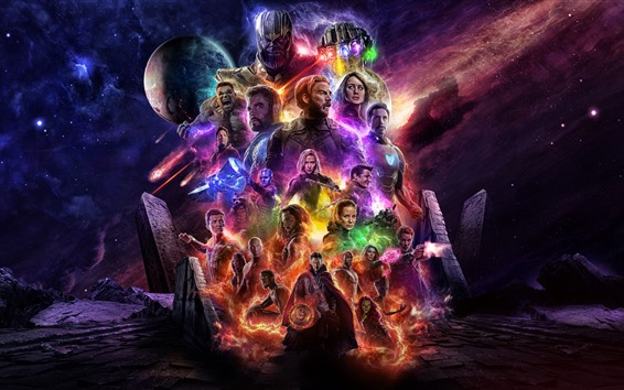 Fond d'écran Avengers: Fin de match 2019
