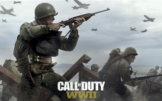 Обои Call of Duty: Вторая мировая, видеоигры