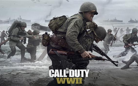 壁纸 使命召唤:第二次世界大战
