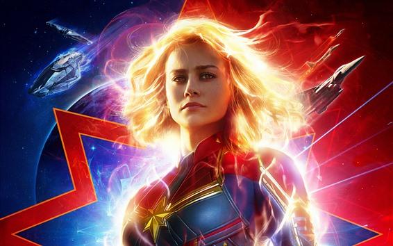 Wallpaper Captain Marvel 2019