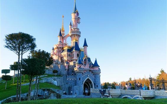 Fondos de pantalla Disneyland, castillo
