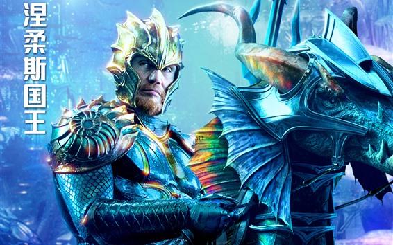 Fondos de pantalla Dolph Lundgren, rey Nereus, Aquaman 2018