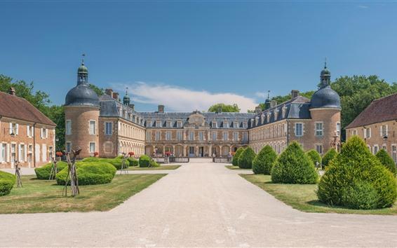 Wallpaper France, Palace Pierre-de-Bresse