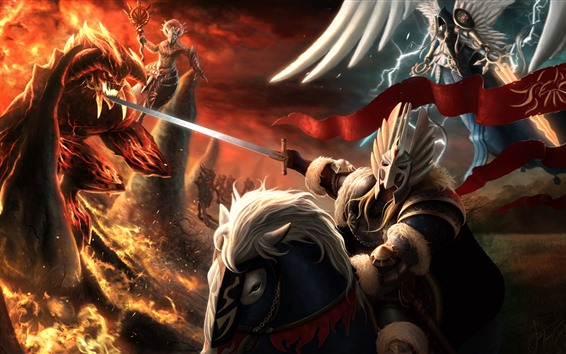 Wallpaper Heroes of Might and Magic, art picture