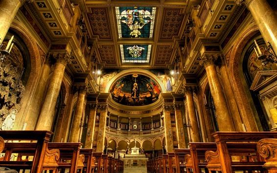 Fondos de pantalla Italia, Roma, iglesia, interior
