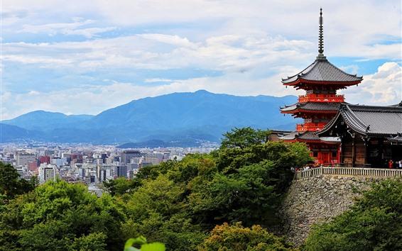 Wallpaper Japan, Kyoto, Nagoya, tower, city