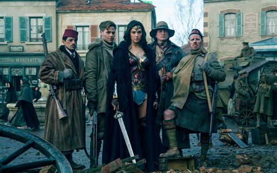 Fondos de pantalla Justice League, DC Comics, película de Marvel, Wonder Woman