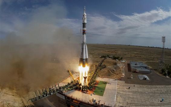 Обои Казахстан, запуск ракеты, энергетика