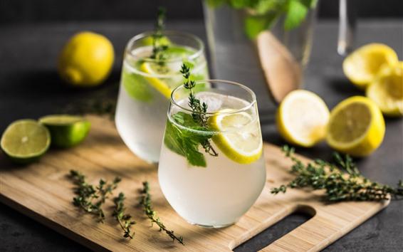 Fondos de pantalla Limonada, Limon, Bebidas