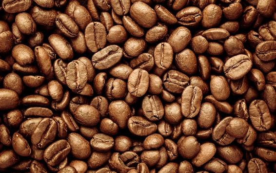 Fondos de pantalla Muchos granos de cafe