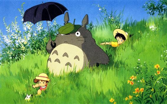 Fond d'écran Mon voisin Totoro, anime classique