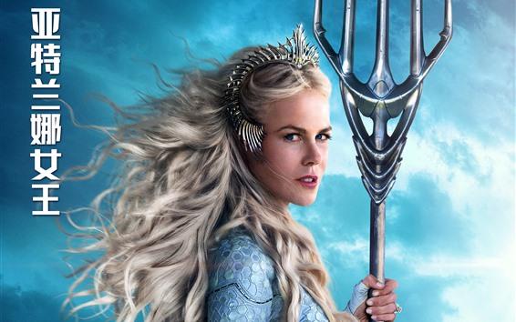 Fondos de pantalla Nicole Kidman, Atlanna, Aquaman 2018