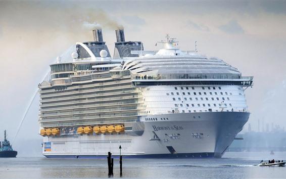 Wallpaper Passenger liner, ship