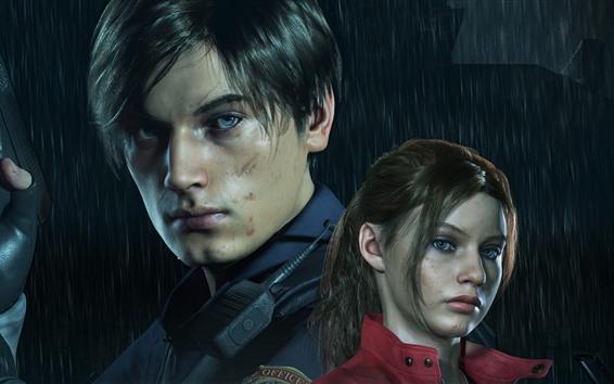 Wallpaper Resident Evil 2 Remake