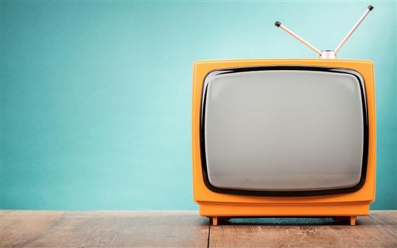 Fondos de pantalla TV retro, antena