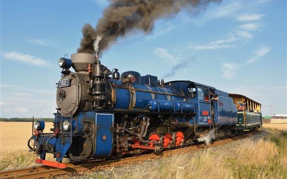 Fondos de pantalla Tren Retro, motor, humo