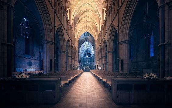 壁紙 サザーク大聖堂, インテリア, 椅子, ロンドン